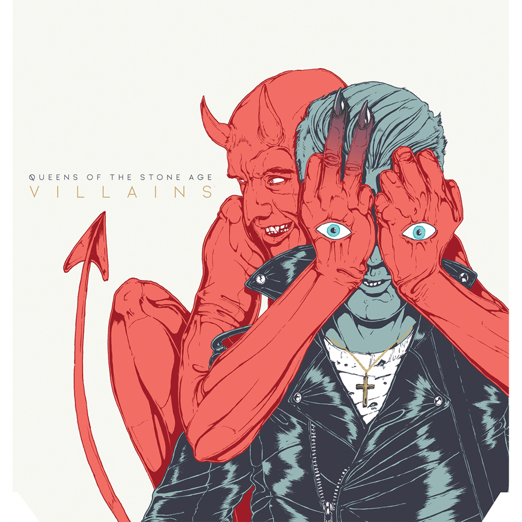 villains artwork Queens of the Stone Age unleash new single The Way You Used to Do    listen