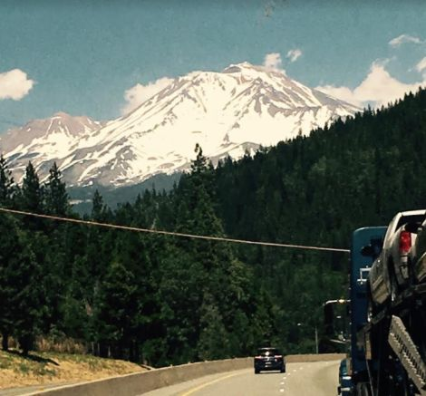 """""""Taking in the Northwest scenery"""""""
