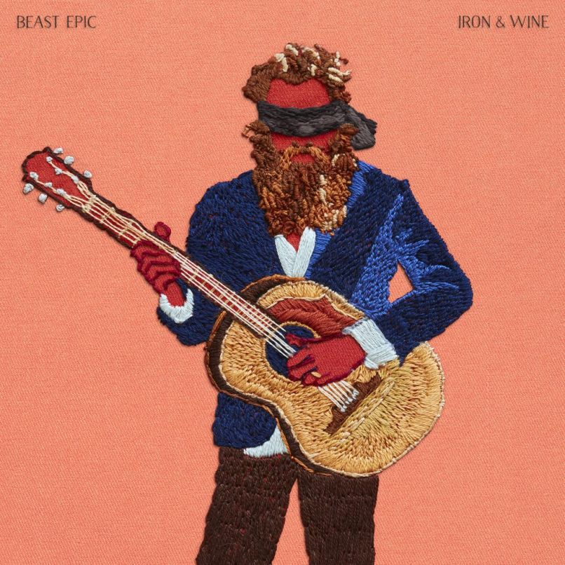 ironandwine beastepic cover 5x5 300 1024x1024 Iron & Wine unveils new album, Beast Epic: Stream/download