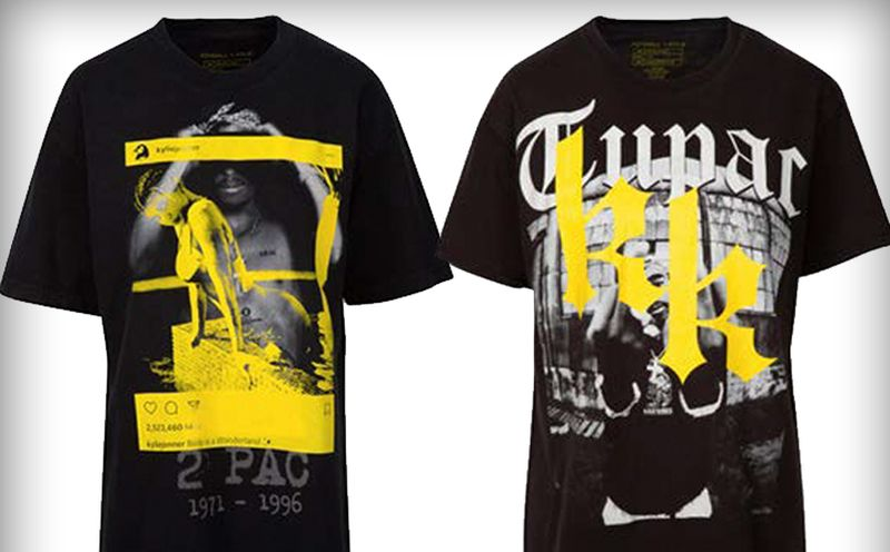 kendall kylie jenner tupac t shirt Kendall and Kylie Jenner hit with lawsuit over their vintage t shirt line