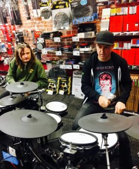 """Beaverton, Oregon Guitar Center electric drum off"""