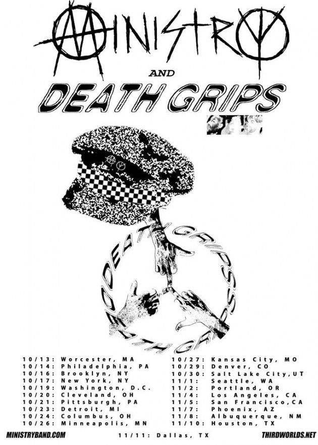 ministry death grips Ministry and Death Grips are going on tour together