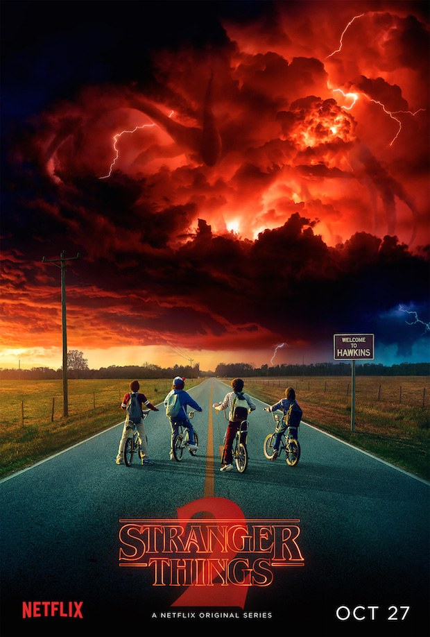 netflix stranger things poster Netflix sets Stranger Things season 2 premiere date, shares new teaser : Watch