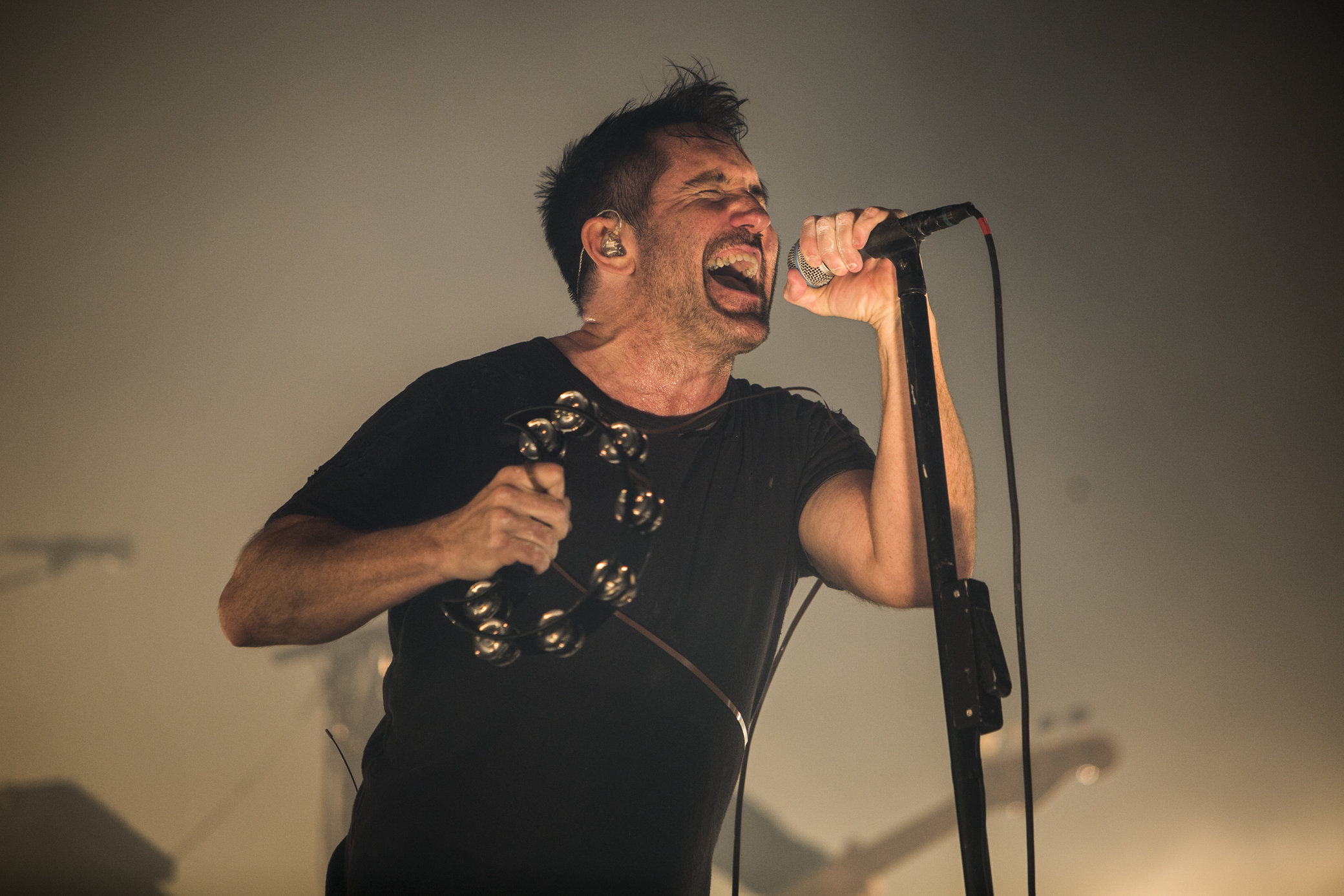 Nine Inch Nails, photo by Philip Cosores