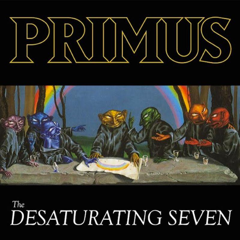 primus the desaturating seven album artwork Les Claypool Breaks Down the Entire Primus Discography