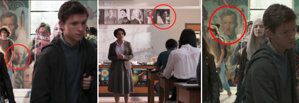 screen shot 2017 07 12 at 9 39 09 pm A Geeks Guide to All the Easter Eggs in Spider Man: Homecoming