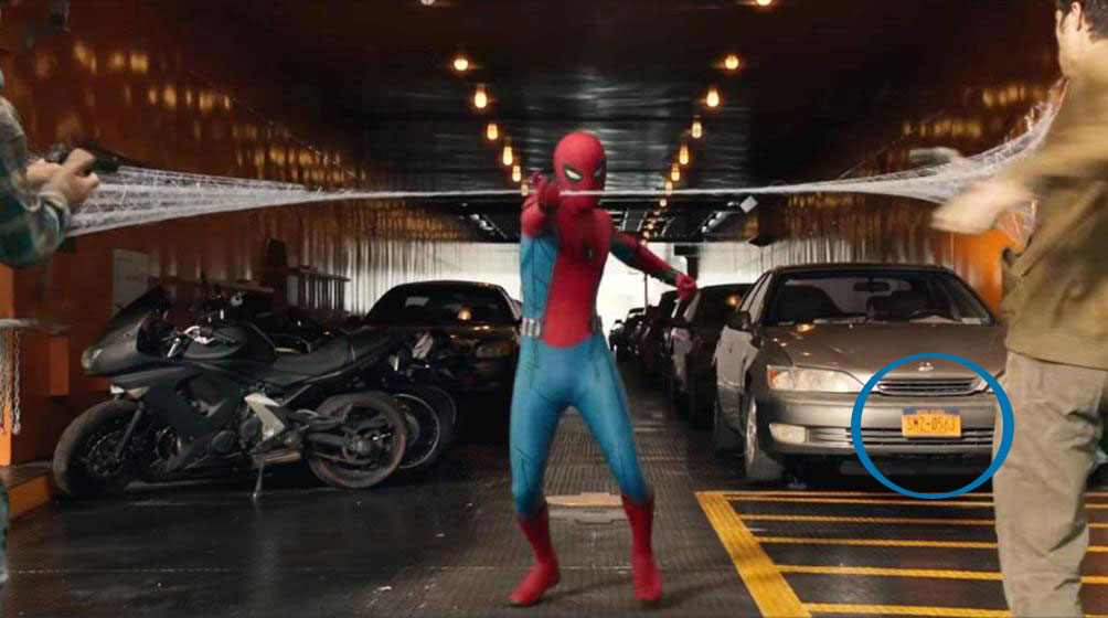 spiderman license A Geeks Guide to All the Easter Eggs in Spider Man: Homecoming