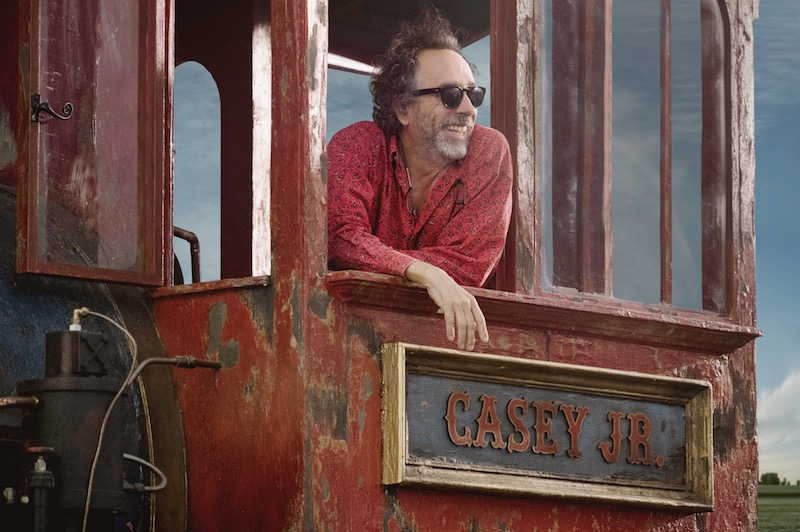 tim burton dumbo production photo Disney unveils cast and release date for Tim Burtons live action Dumbo movie