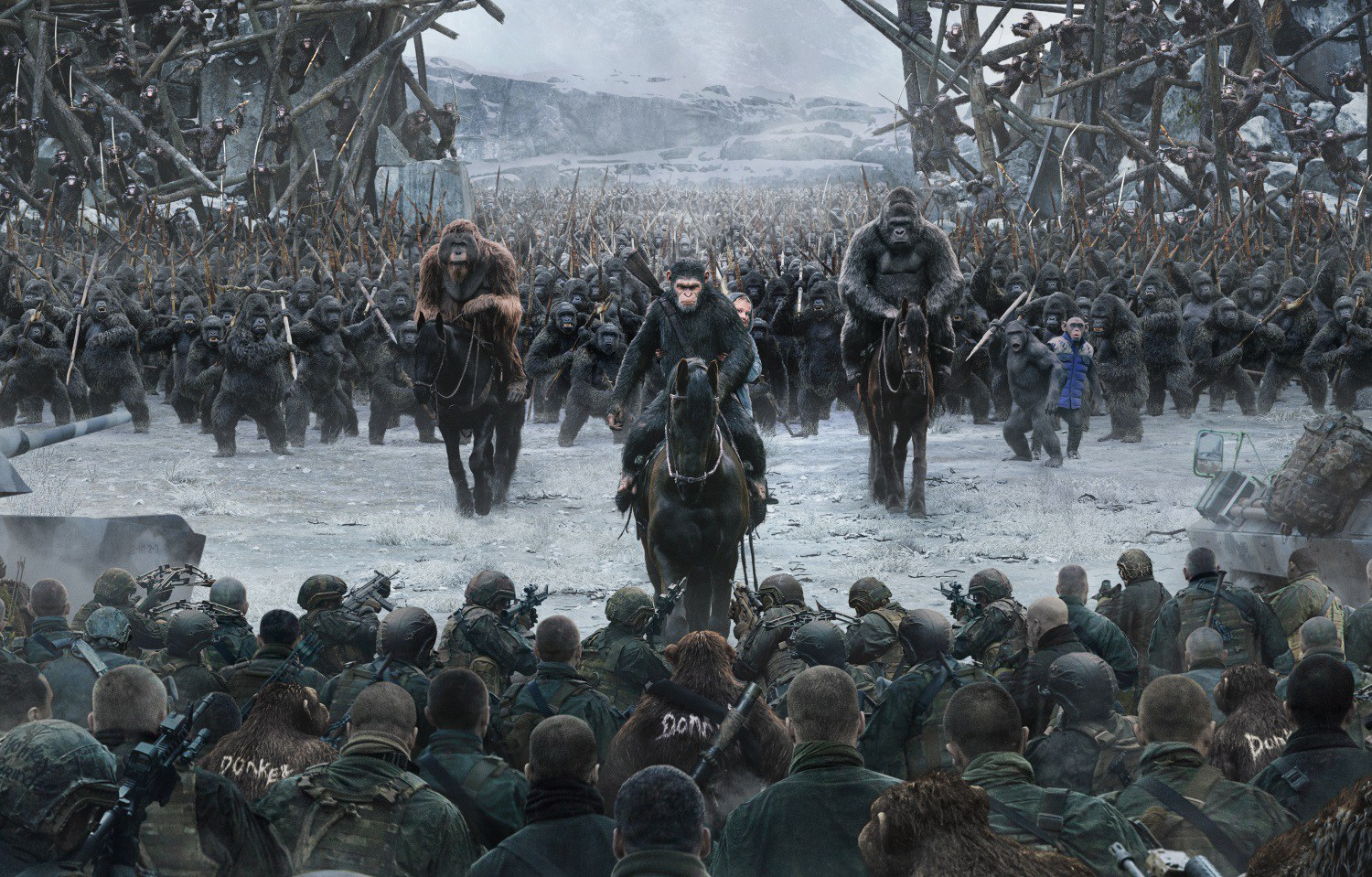 war for the planet of the apes film Apes Wizard Andy Serkis Explains How He Evolved Caesar