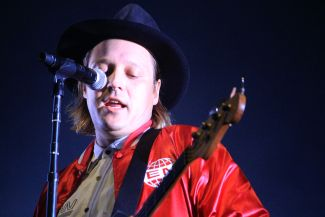 Arcade Fire, photo by Heather Kaplan