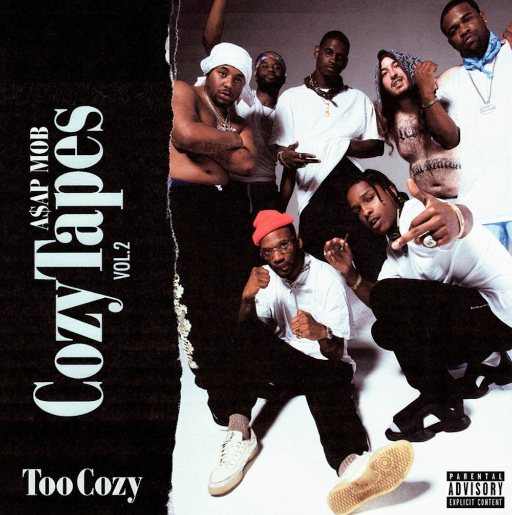 asap mob cozy tapes vol 2 too cozy download stream ASAP Mob release new mixtape Cozy Tapes Vol. 2: Too Cozy: Stream/download