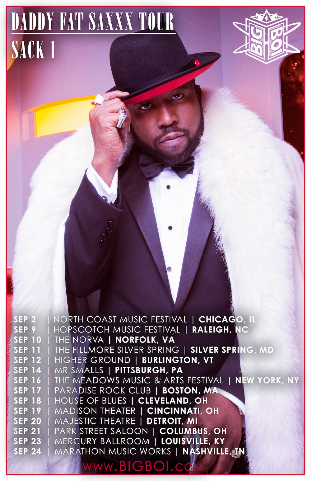 big boi 1 Big Boi announces US Daddy Fat Saxxx Tour