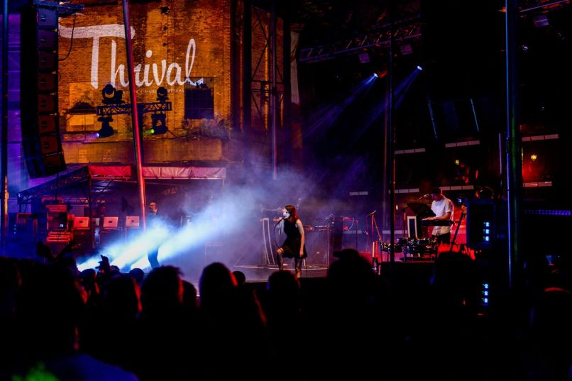 chvrches wide shot image1 Why Curation, Innovation, and Location Are the Future of the Modern Music Festival