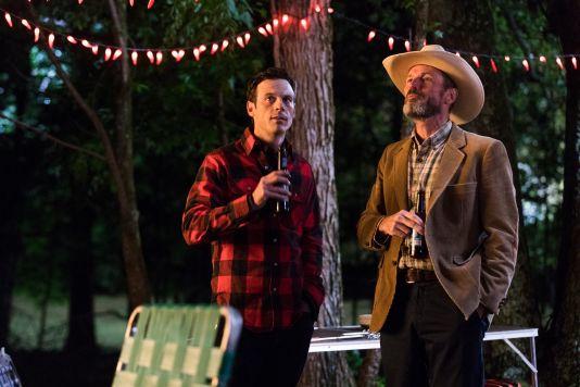 Scoot McNairy as Gordon Clark, Toby Huss as John Bosworth - Halt and Catch Fire _ Season 4, Episode 4 - Photo Credit: Bob Mahoney/AMC