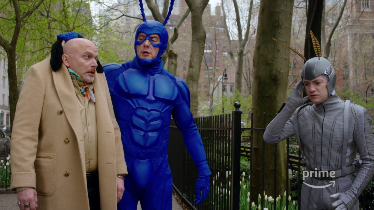 hq720 The Tick Brings Bold, Blue Justice to a Grimdark Superhero World