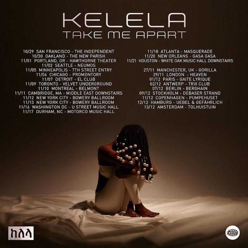 kelela tour dates take me apart Kelela announces Take Me Apart fall tour