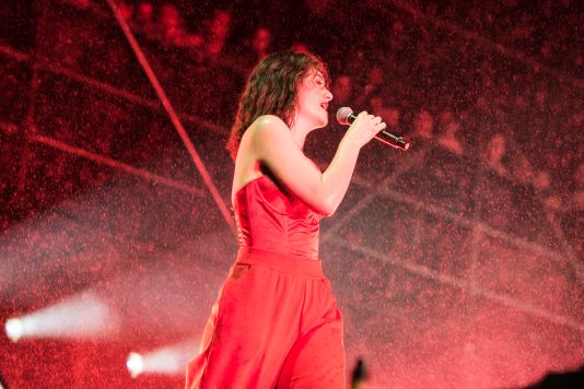 Lorde // Photo by Philip Cosores