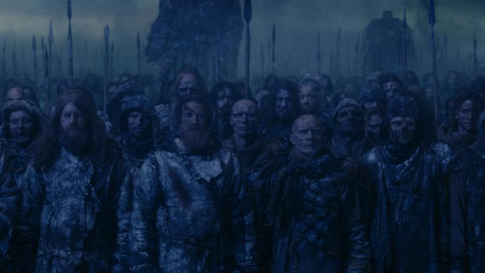 mastodon game of thrones finale white walkers Mastodon announce new Cold Dark Place EP, cameo on season 7 finale of Game of Thrones