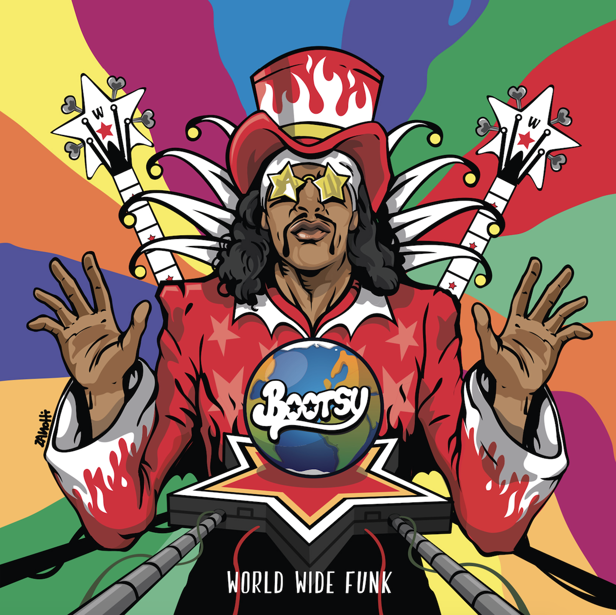 screen shot 2017 08 23 at 10 24 04 am Bootsy Collins announces new album, World Wide Funk, shares lead single, Worth My While with Kali Uchis: Stream