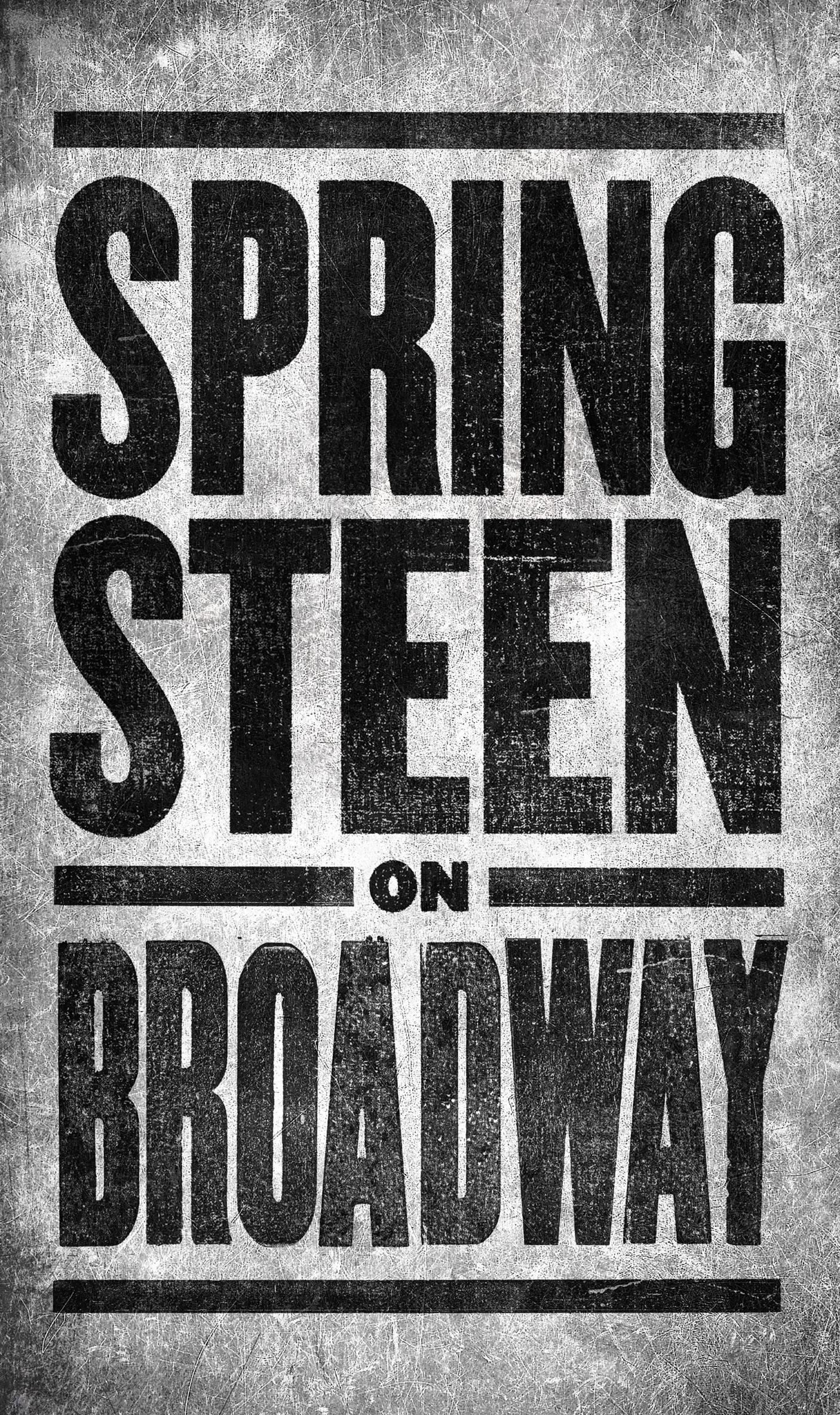 springsteen broadwa Bruce Springsteen announces eight week Broadway residency