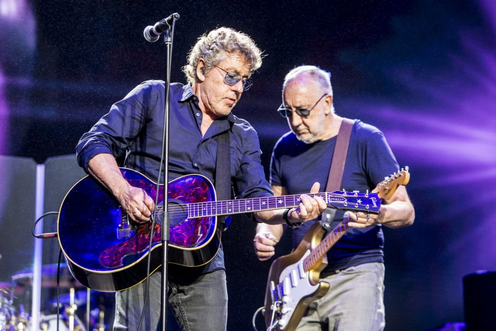 The Who, photo by Philip Cosores