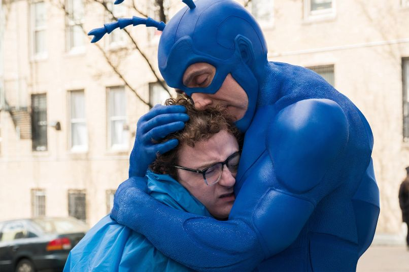 tick 101 06087 rt2 s3 rgb The Tick Brings Bold, Blue Justice to a Grimdark Superhero World