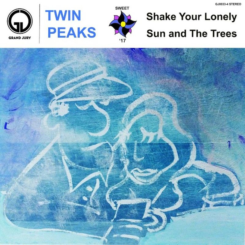 twin peaks shake your lonely sun and the trees artwork Twin Peaks share Shake Your Lonely and Sun and The Trees: Stream