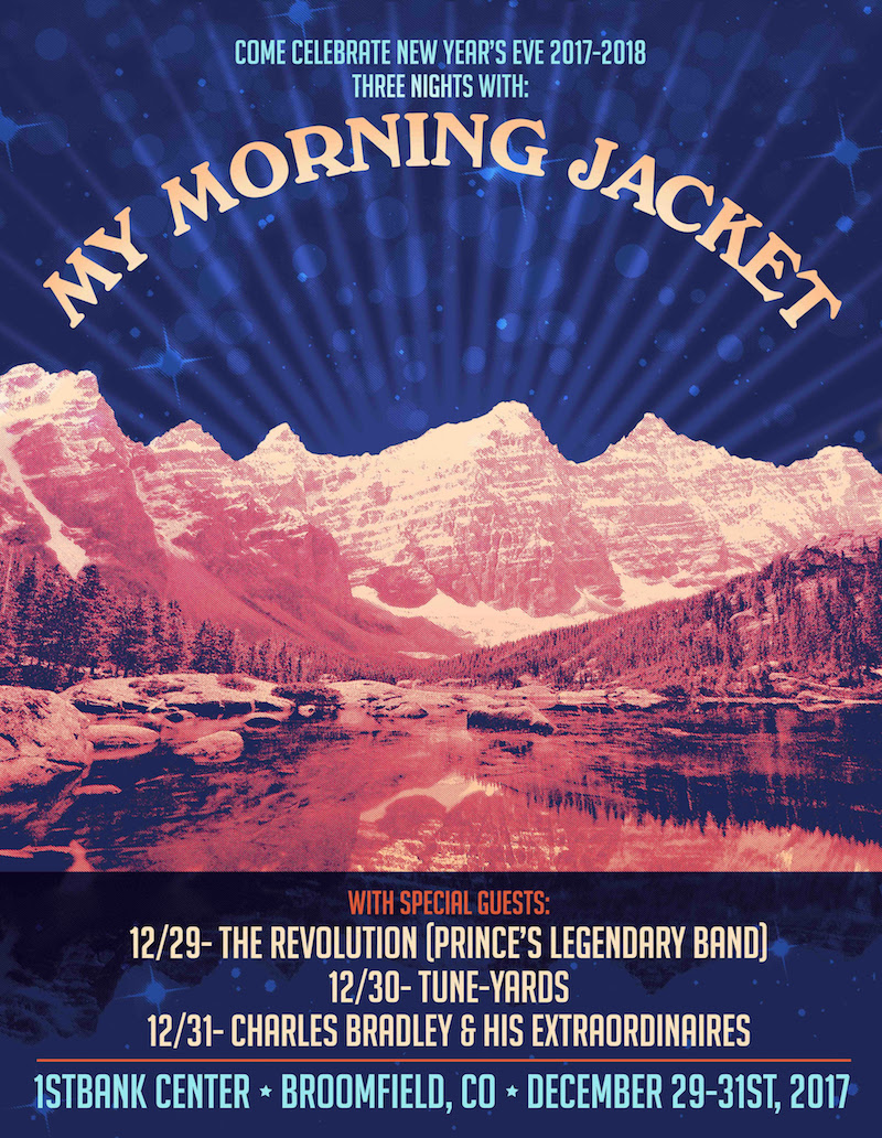 unnamed 211 My Morning Jacket announce three night New Years Eve concert event in Colorado