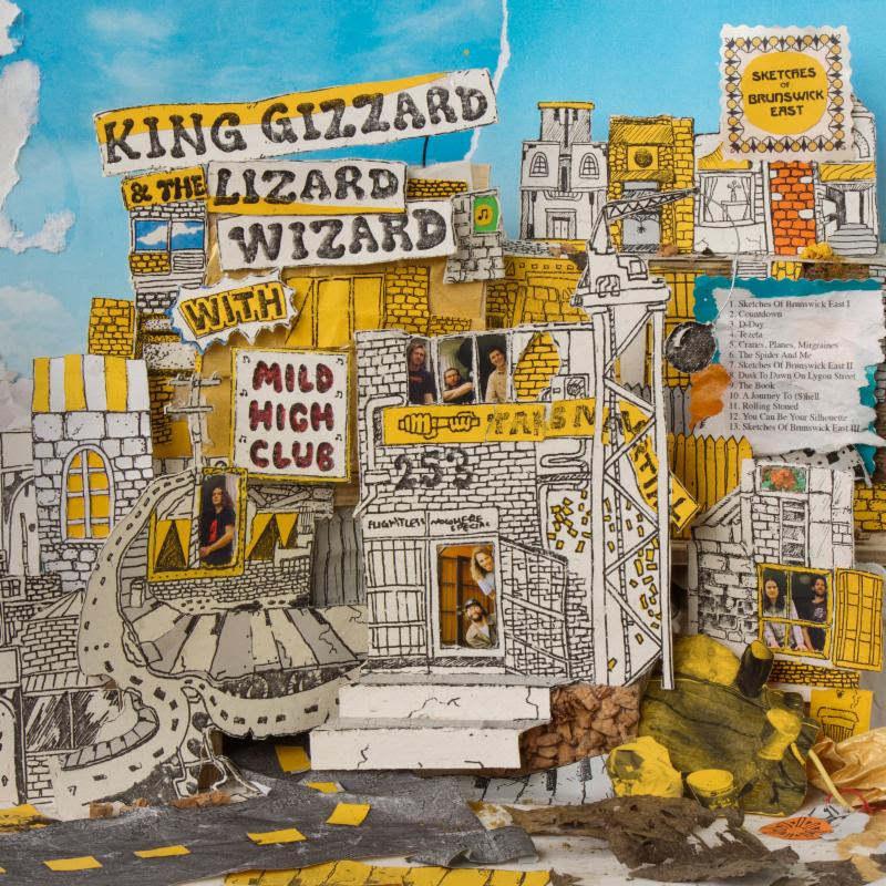 unnamed 31 King Gizzard and the Lizard Wizard release surprise new album, Sketches of Brunswick East: Stream