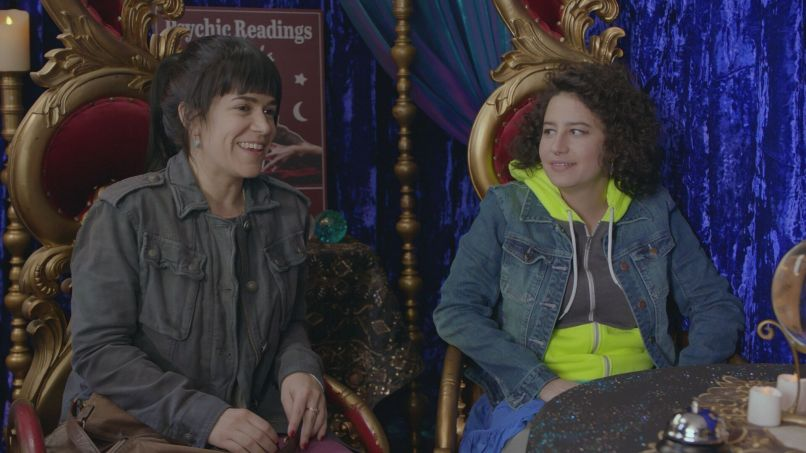 bc 401 psychiccreditcomedycentral Broad City Navigates a Precarious Political Reality in Season Four