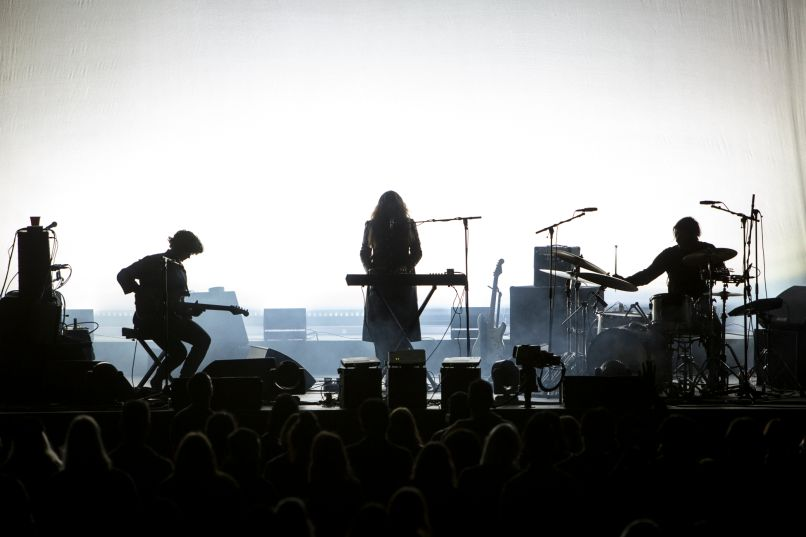 beach house 4 Live Review: Fleet Foxes and Beach House at the Hollywood Bowl (9/23)