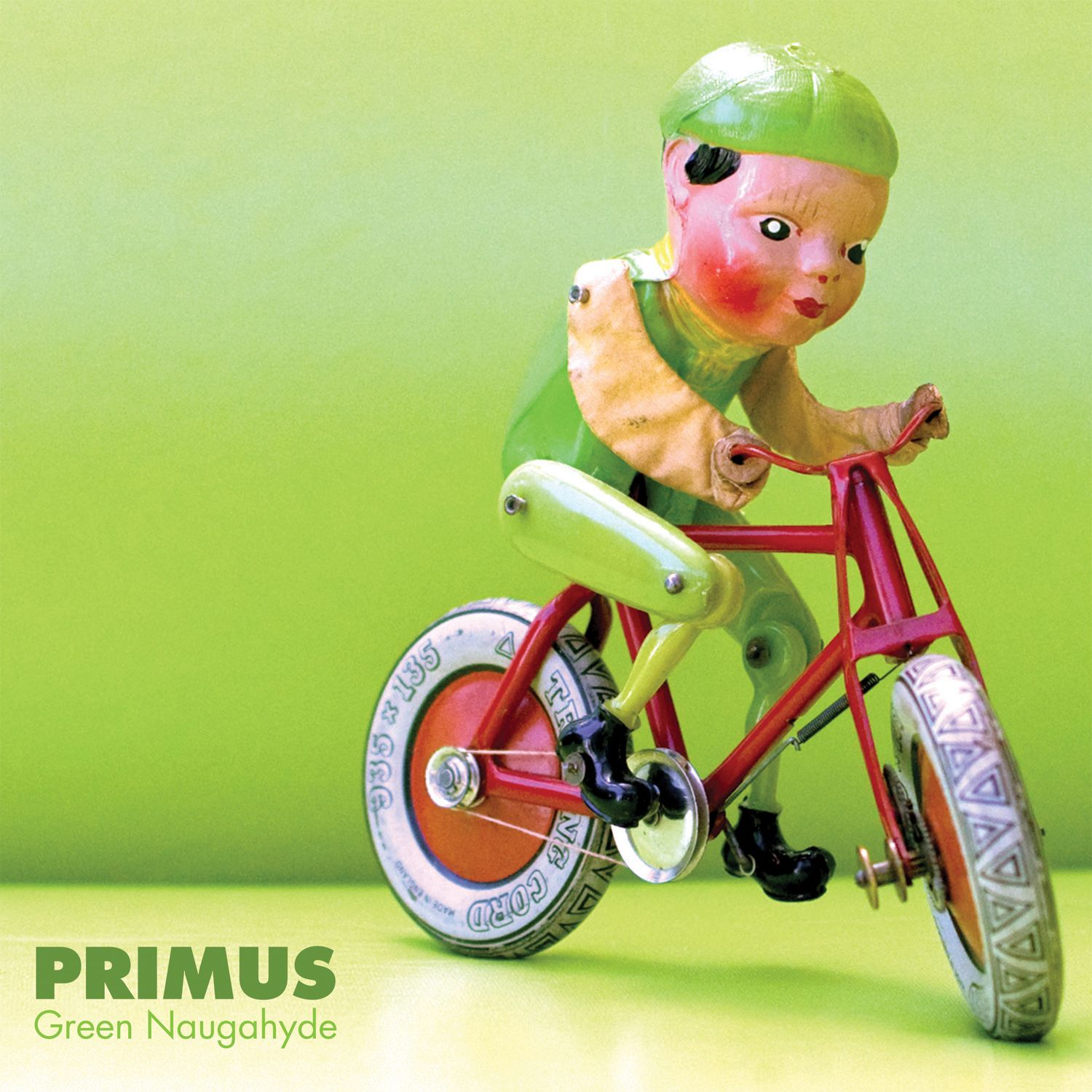 green naugahyde Les Claypool Breaks Down the Entire Primus Discography