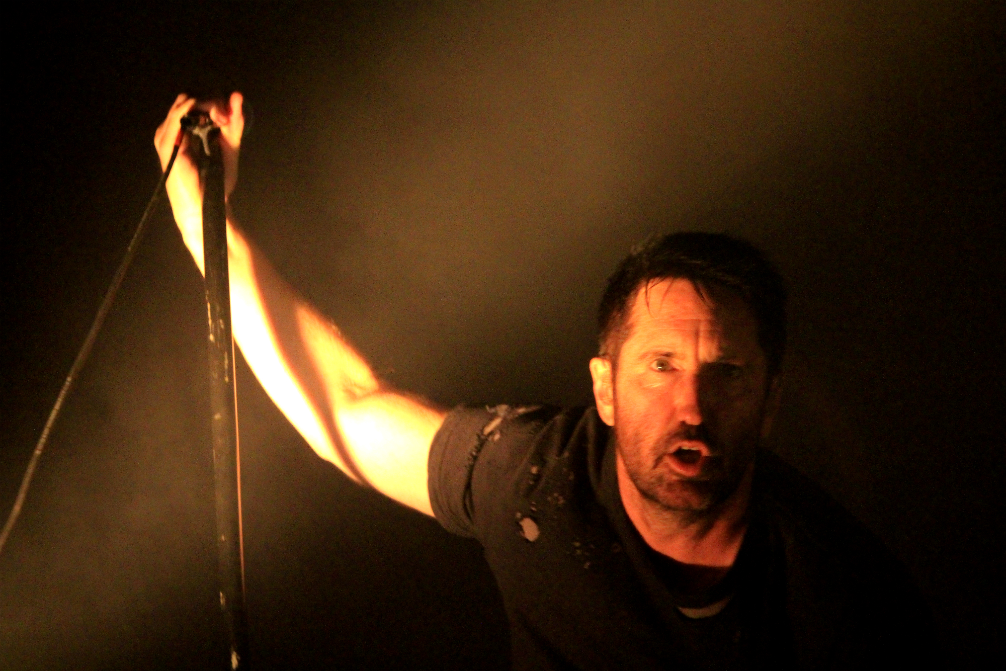 Nine Inch Nails, photo by Heather Kaplan