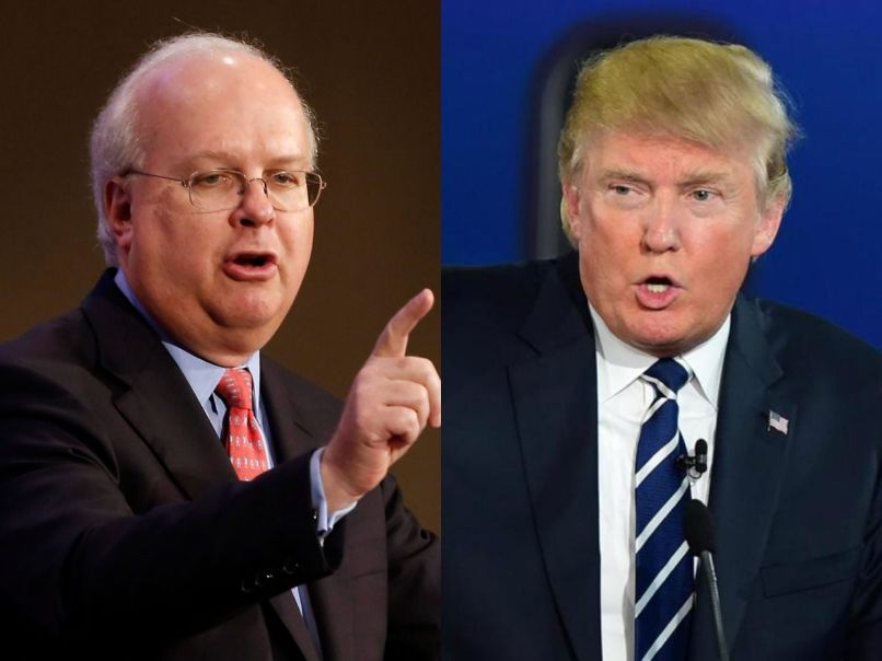 karl rove donald trump ap getty The National Are the Hardest Working Band in the World
