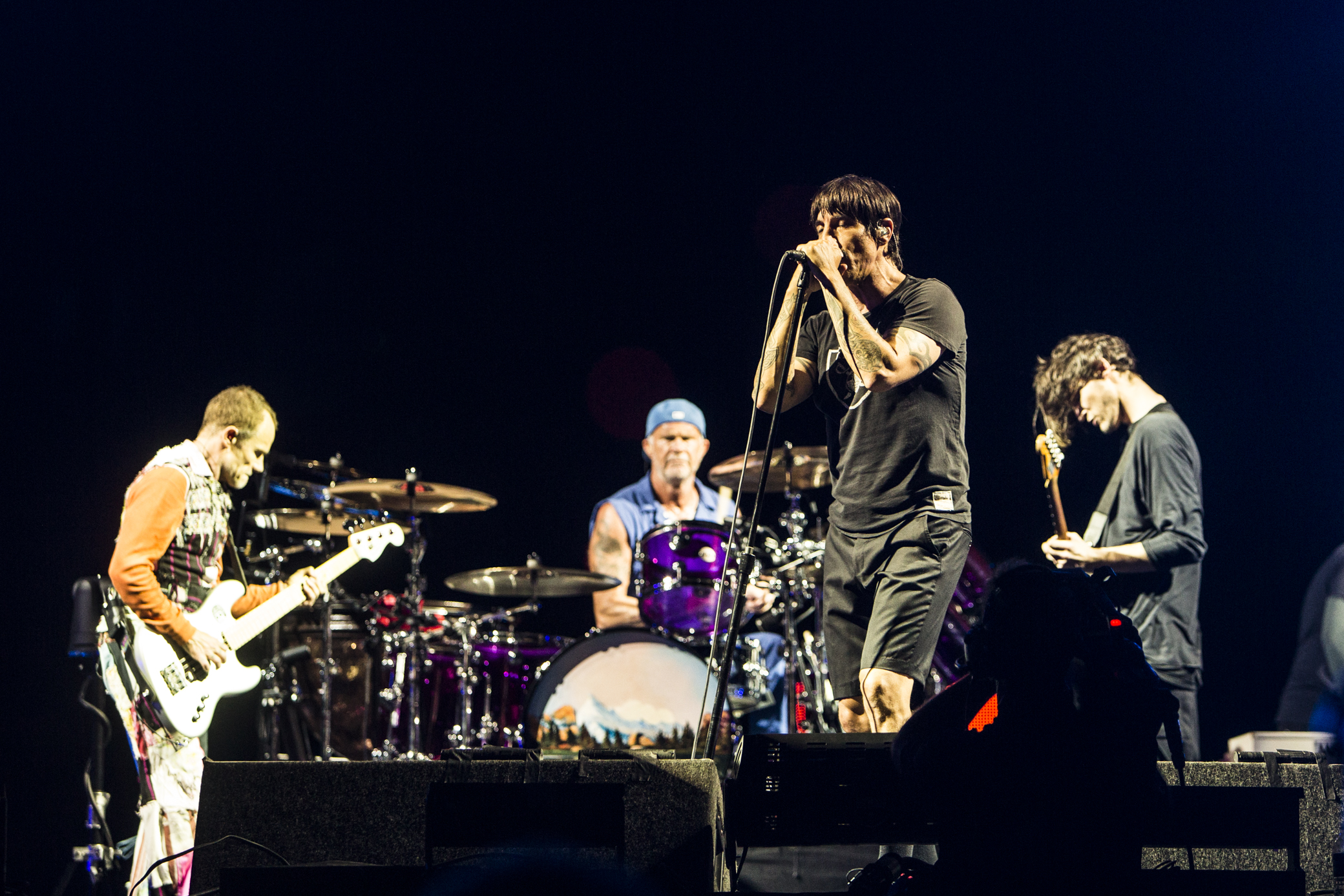 Red Hot Chili Peppers // Photo by Philip Cosores