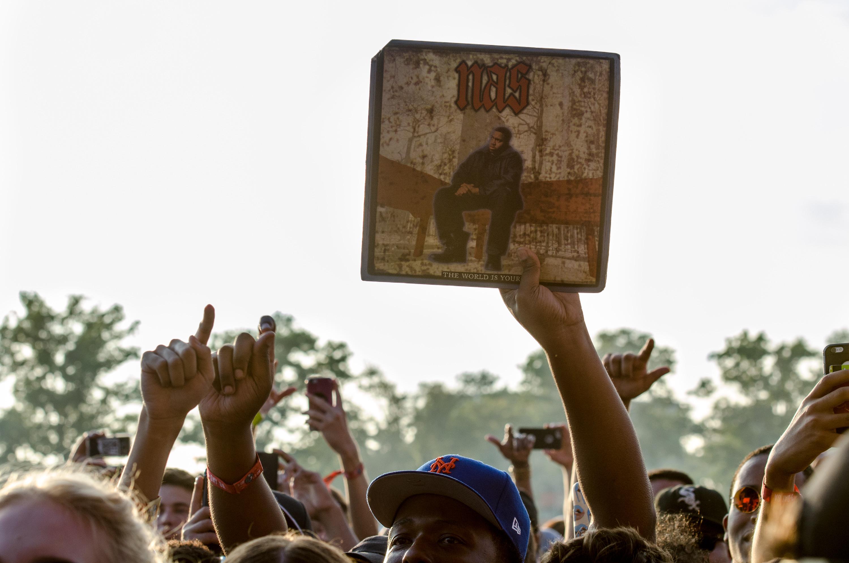 Nas // Photo by Ben Kaye