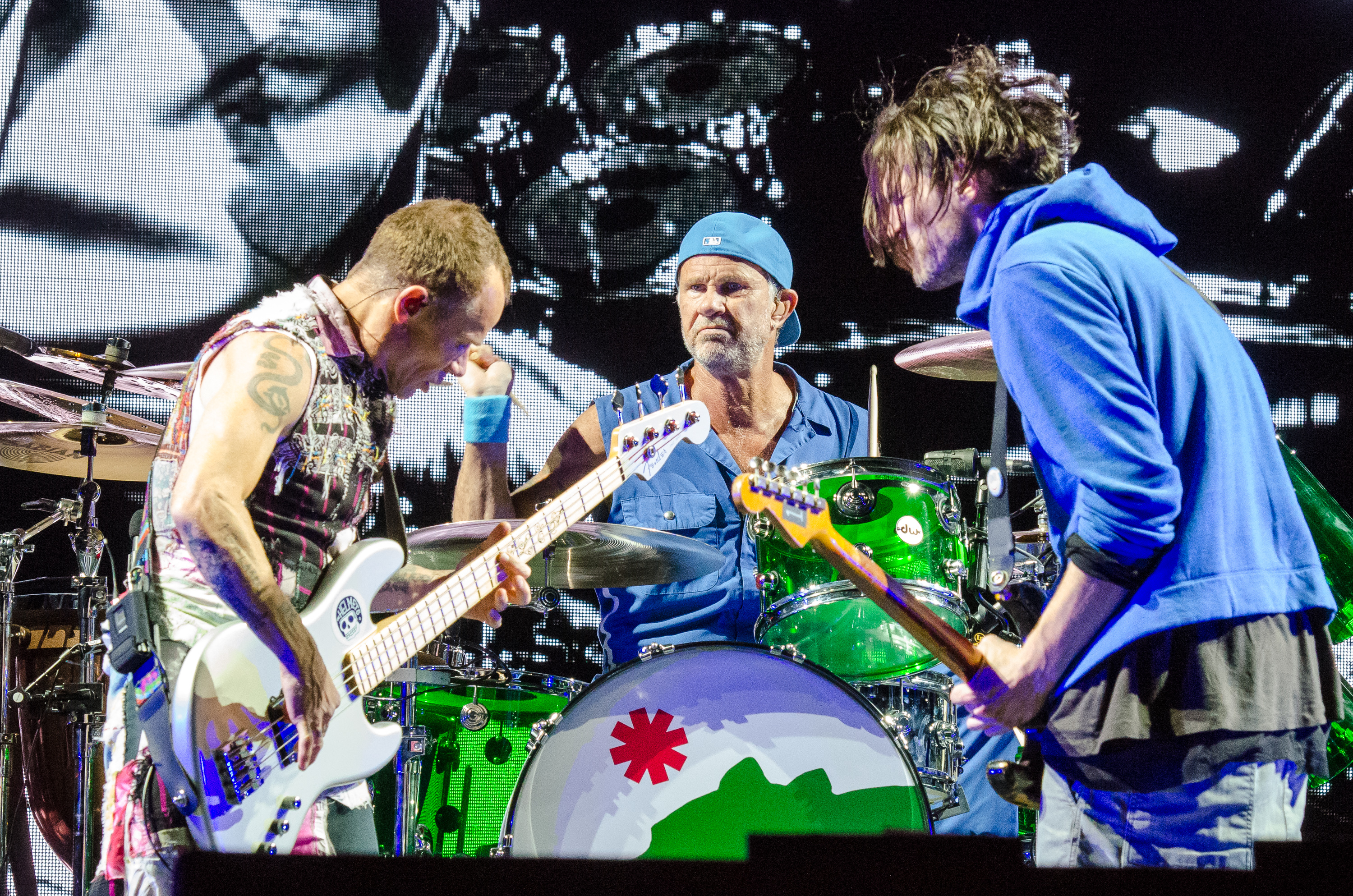 Red Hot Chili Peppers, photo by Ben Kaye