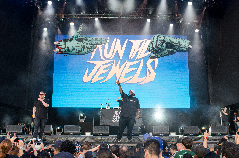 Run the Jewels // Photo by Ben Kaye