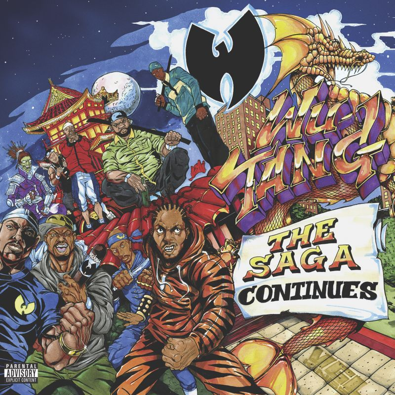 wu tang the saga continues album artwork Wu Tang Clan unveil new album, Wu Tang: The Saga Continues: Stream/download