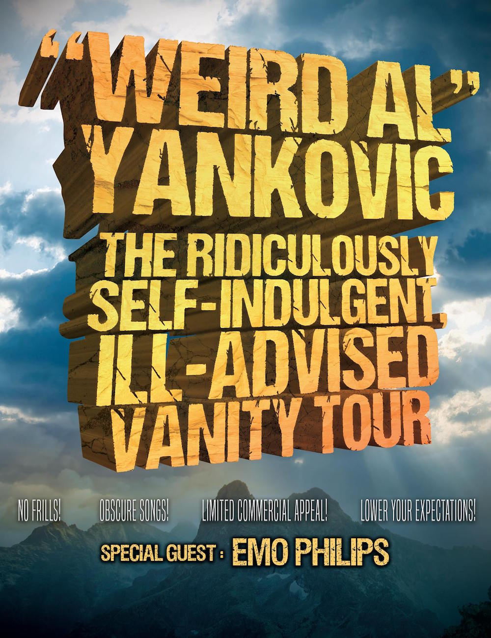 22382377 10155536575906005 5239119970592500997 o Weird Al Yankovic announces The Ridiculously Self Indulgent Ill Advised Vanity Tour