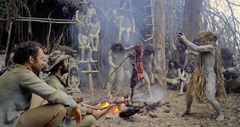 cannibal holocaust 1980 The 100 Scariest Movies of All Time
