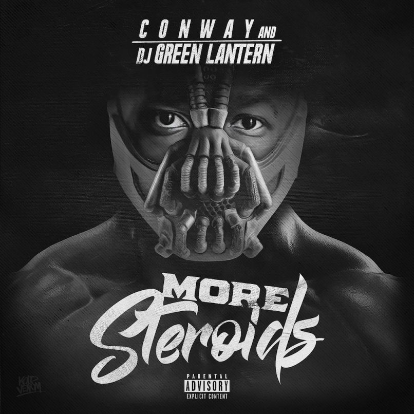 conway more steroids artwork Conway drops new mixtape, More Steroids: Stream