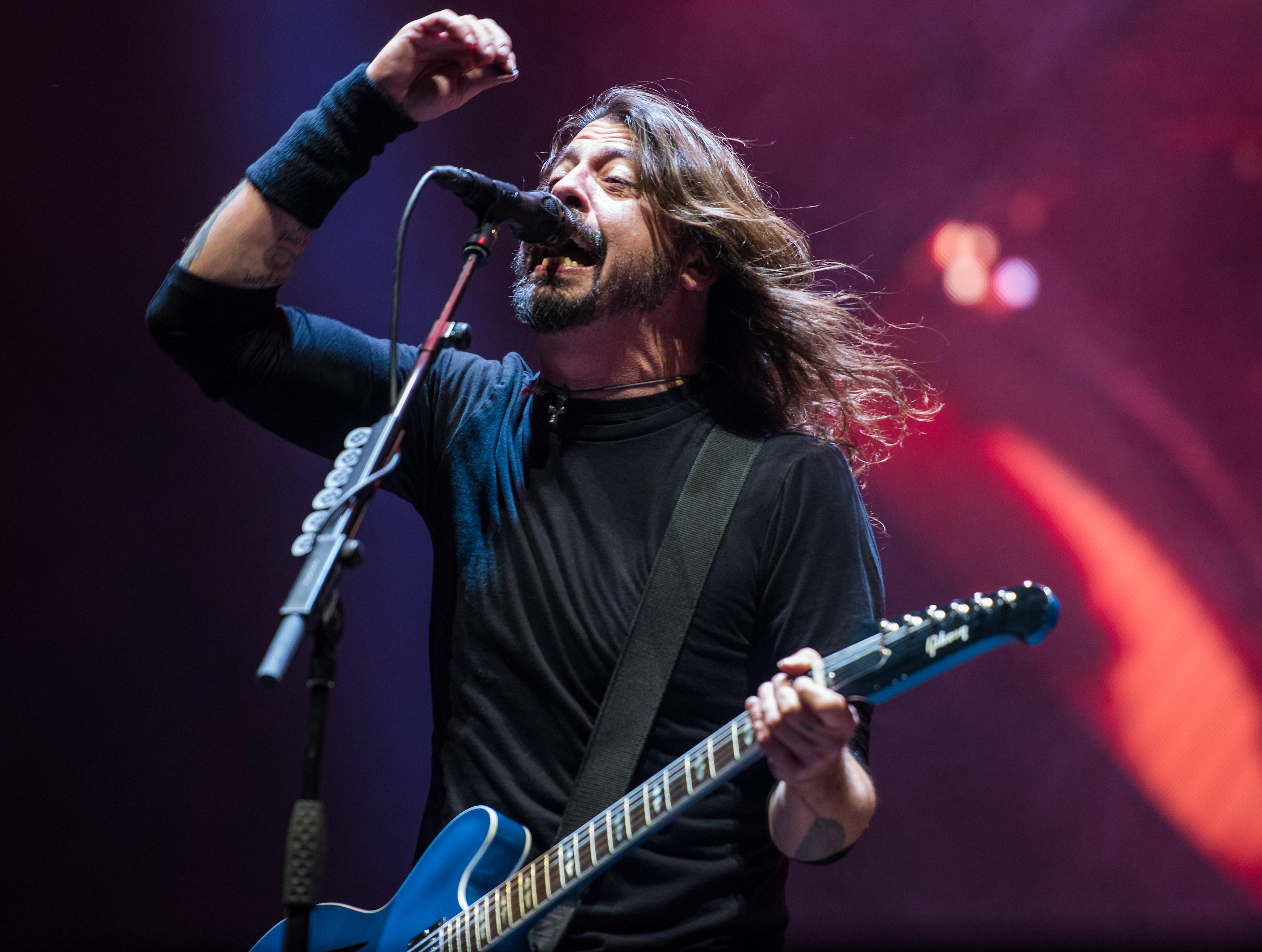 Foo Fighters, photo by David Brendan Hall