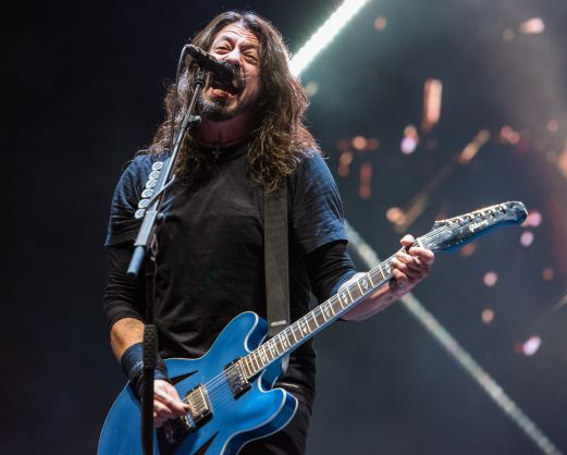 Foo Fighters, photo by David Brendan Hall