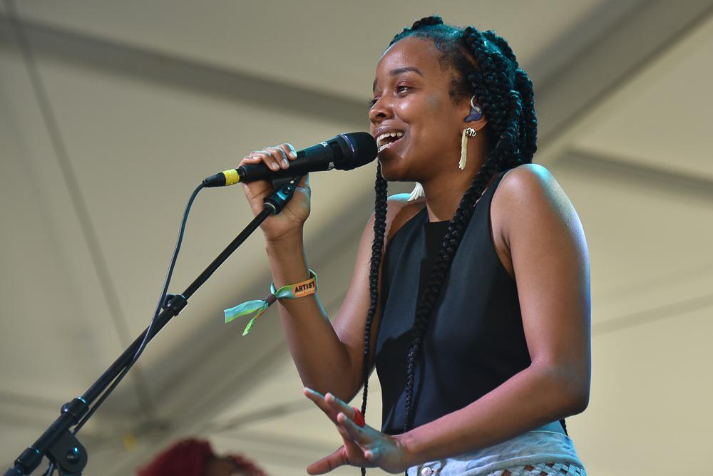 Jamila Woods // Photo by Amy Price
