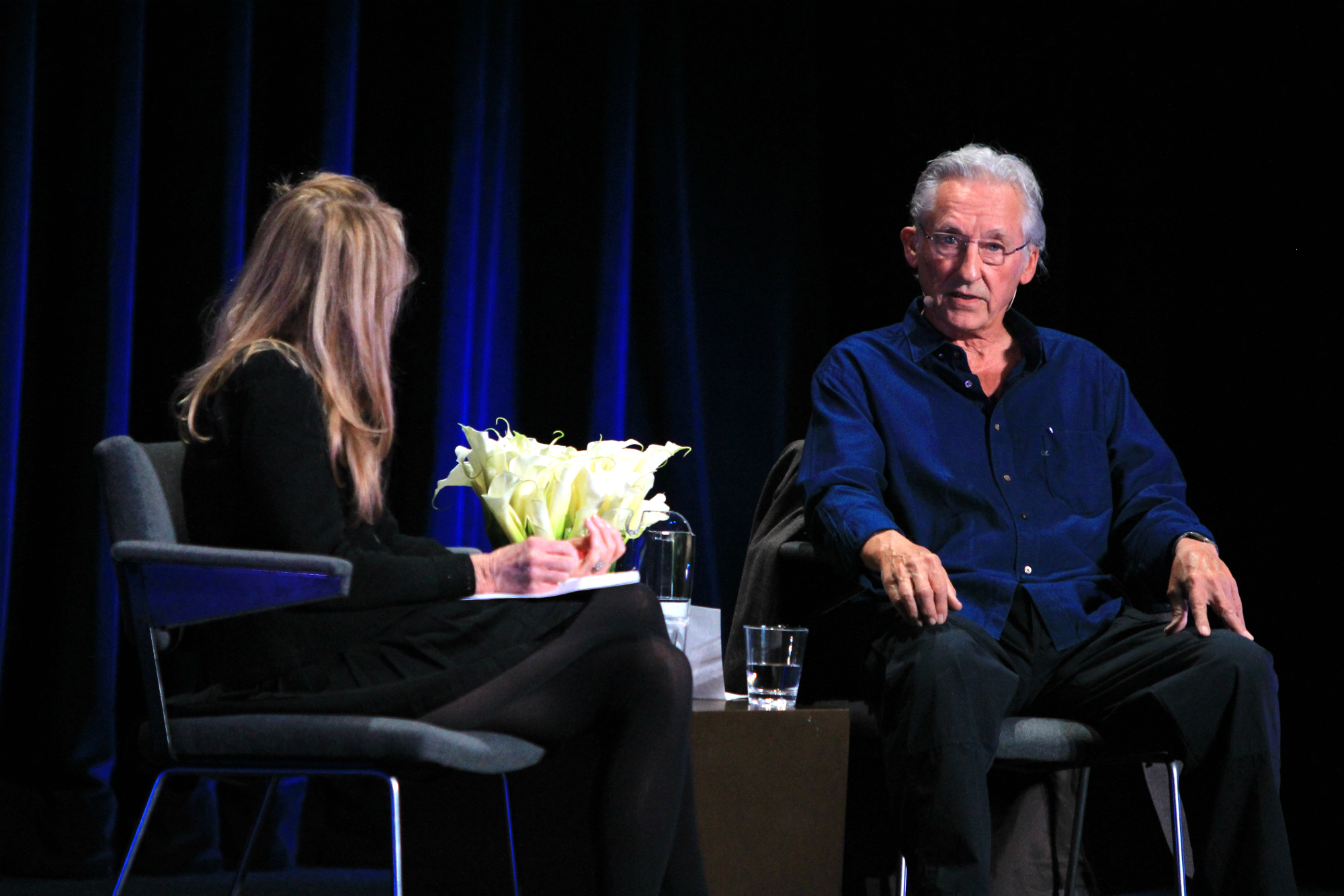 Kristine McKenna and Ed Ruscha // Photo by Heather Kaplan