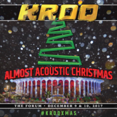 KROQ Almost Acoustic Christmas 2017   Festival Outlook