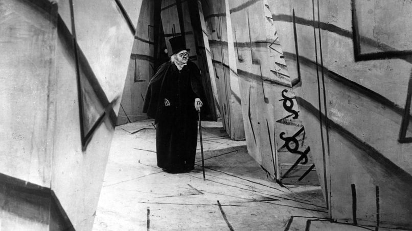 the cabinet of dr caligari 1920 The 100 Scariest Movies of All Time