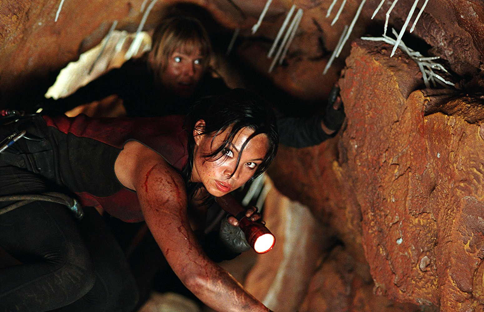 the descent 2005 The 100 Scariest Movies of All Time