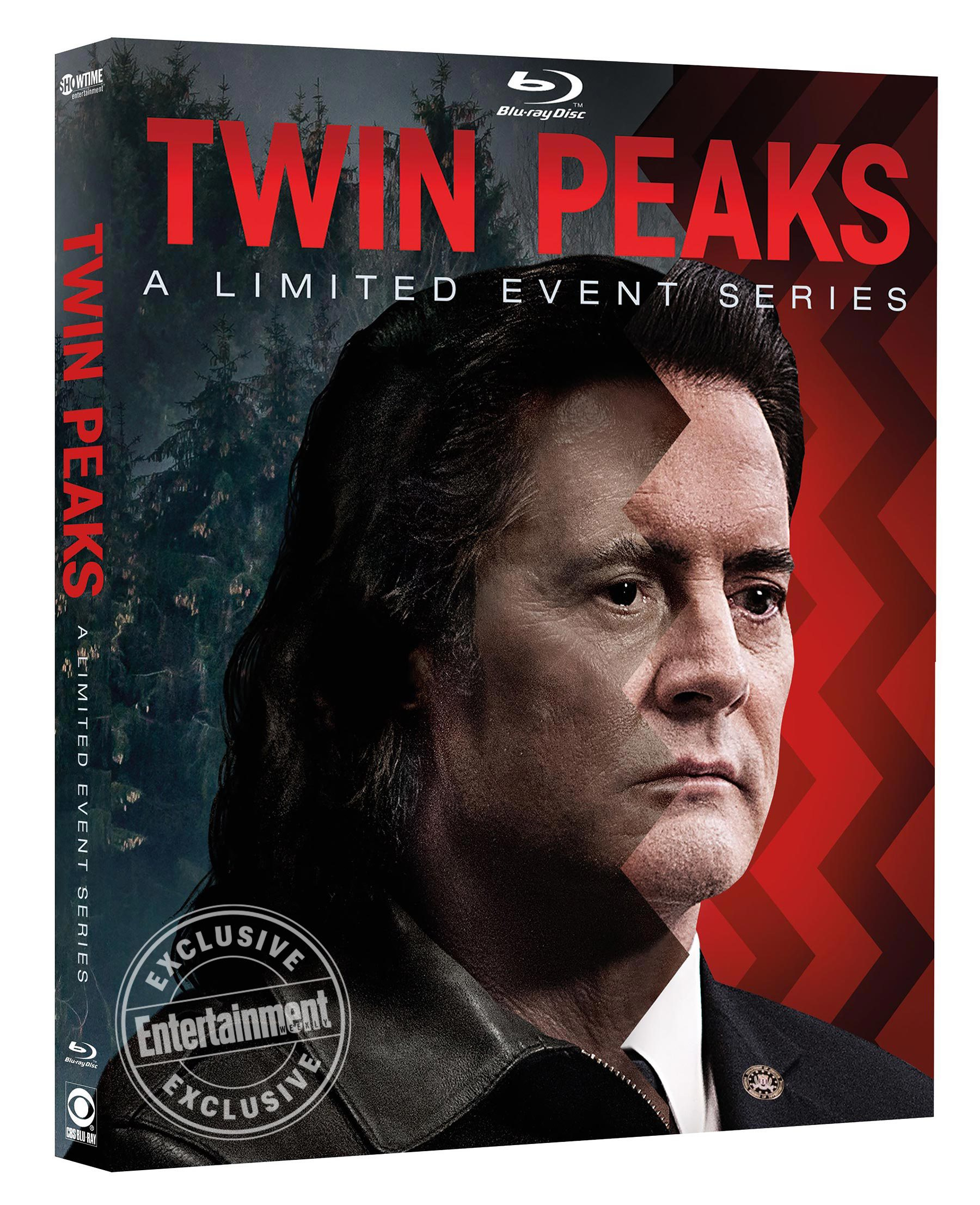 twin peaks dvd cover Twin Peaks: A Limited Event Series DVD/Blu ray includes six hours of bonus material